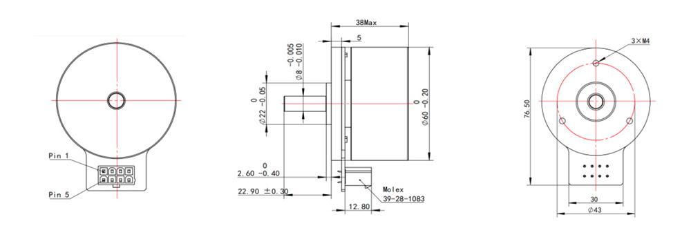 EC6038-2 Dimensions
